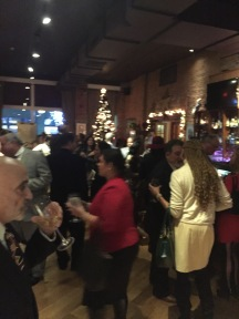 100 HWW guests Networking and enjoying a great evening - Nice way to start the Festive Season
